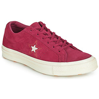 Scarpe Donna Sneakers basse Converse ONE STAR LOVE IN THE DETAILS SUEDE OX Fucsia