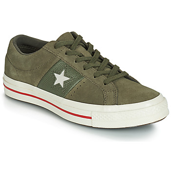 Scarpe Donna Sneakers basse Converse ONE STAR CUIR FASHION BALLER SUEDE OX Kaki