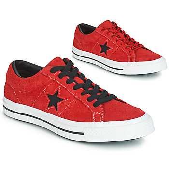 Scarpe Sneakers basse Converse ONE STAR DARK STAR VINTAGE SUEDE OX Rosso