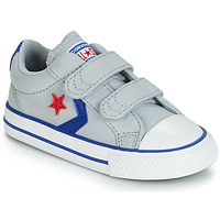 Scarpe Unisex bambino Sneakers basse Converse STAR PLAYER 2V CANVAS OX Grigio