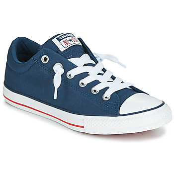 Scarpe Unisex bambino Sneakers basse Converse CHUCK TAYLOR ALL STAR STREET CANVAS OX Blu