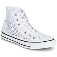 Scarpe Donna Sneakers alte Converse CHUCK TAYLOR ALL STAR HANDMADE CROCHET HI Bianco
