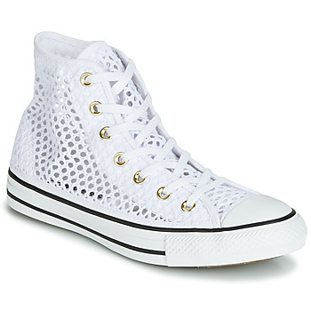 3f5b916bfadf Scarpe Donna Sneakers alte Converse CHUCK TAYLOR ALL STAR HANDMADE CROCHET  HI Bianco