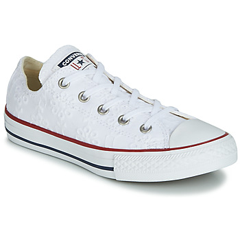 Scarpe Bambina Sneakers basse Converse CHUCK TAYLOR ALL STAR BROADERIE ANGLIAS OX Bianco