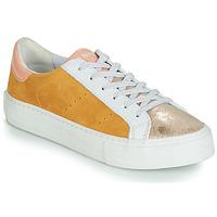 Scarpe Donna Sneakers basse No Name ARCADE Bianco / Oro / Giallo
