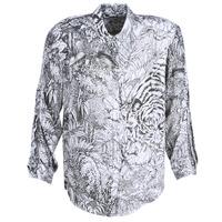 Abbigliamento Donna Camicie Ikks BN12085-11 Bianco / Nero
