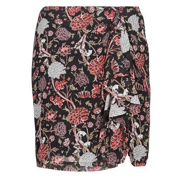 Abbigliamento Donna Gonne Ikks BN27105-02 Nero / Multicolore