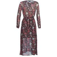 Abbigliamento Donna Abiti lunghi Ikks BN30065-02 Nero / Rosso / Grigio