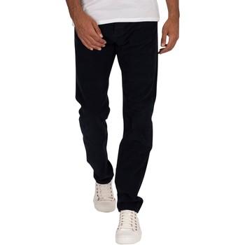 Abbigliamento Uomo Pantaloni Lois Jeans Uomo Pantaloni in velluto a coste sottili, Blu blu