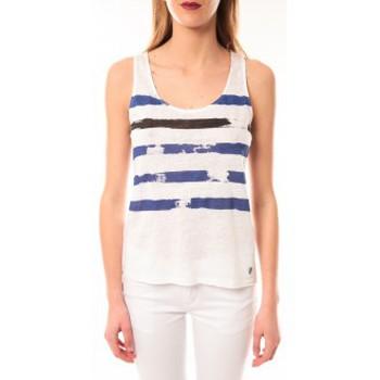 Abbigliamento Donna Top / T-shirt senza maniche Little Marcel Débardeur Dicola Navy E15FTAN0302 Marin Blu