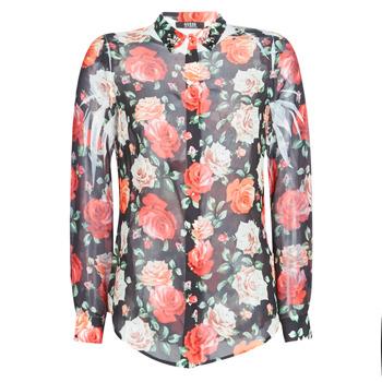 Abbigliamento Donna Camicie Guess CLOUIS Nero / Multicolore