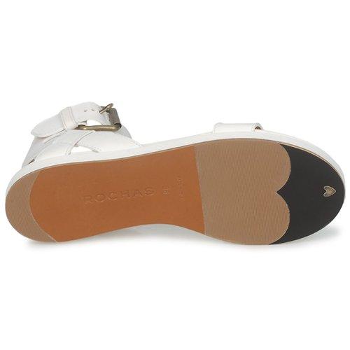 Rochas Ro18002 Bianco - Consegna Gratuita- Scarpe Sandali Donna 297