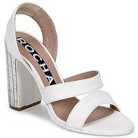 Scarpe Donna Sandali Rochas RO18244 Bianco