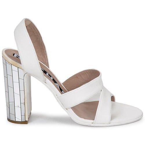 Rochas Ro18244 Bianco - Consegna Gratuita- Scarpe Sandali Donna 294