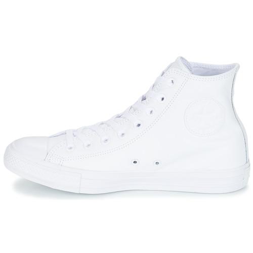 All Monochrome Hi Converse Sneakers Alte Gratuita 7230 Star Cuir Consegna Scarpe Bianco rdosxBthQC