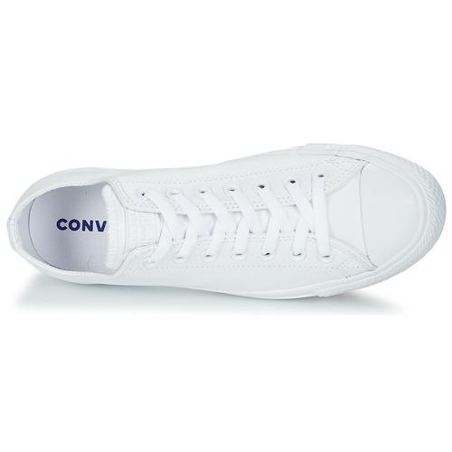 Ox Star Bianco Basse Consegna Sneakers All Cuir 6800 Gratuita Scarpe Converse Monochrome Y6gyfb7