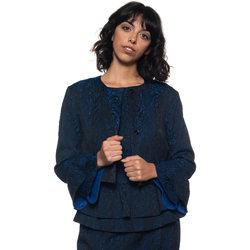 Abbigliamento Donna Giacche Roberto Cavalli Giacca corta blu