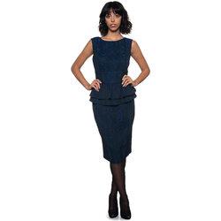 Abbigliamento Donna Vestiti Cavalli Class Abito tubino blu