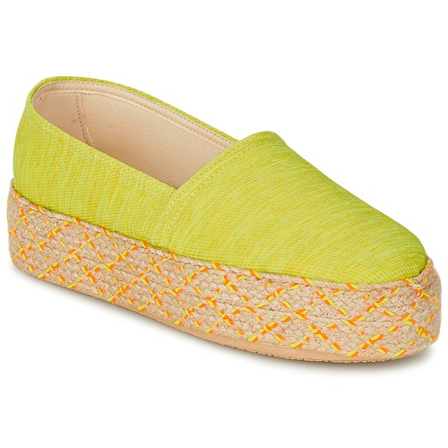 Scarpe Donna Espadrillas Betty London TROOPIKA Giallo