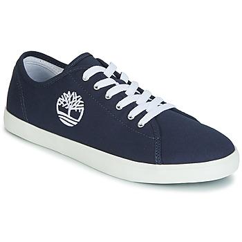 Scarpe Unisex bambino Sneakers basse Timberland NEWPORT BAY CANVAS OX Blu