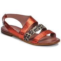 Scarpe Donna Sandali Mjus CHAT BUCKLE Rosso / Leopard