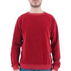Abbigliamento Uomo Felpe Devid Label Felpa Da Uomo Rosso  DL18549010 Rosso