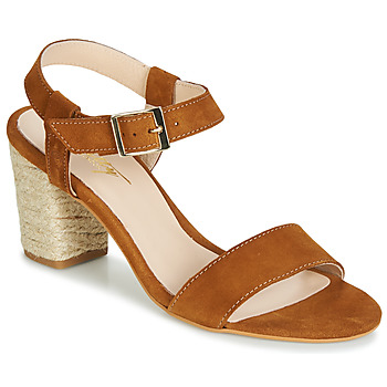 Scarpe Donna Sandali Betty London JIKOTIFE Camel