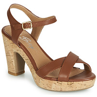 Scarpe Donna Sandali Betty London JIKOTIK Camel