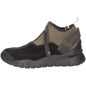 Scarpe Uomo Sneakers alte Mg Magica U1831 Nero/verde