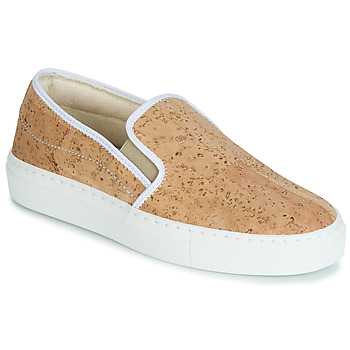 Scarpe Donna Slip on Dream in Green JAKAMORI Beige
