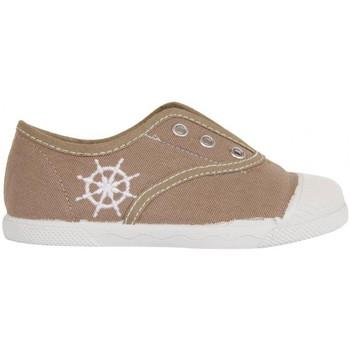 Scarpe Unisex bambino Sneakers basse Cotton Club CC0001 Beige
