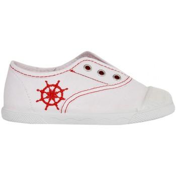 Scarpe Unisex bambino Sneakers basse Cotton Club CC0001 Blanco
