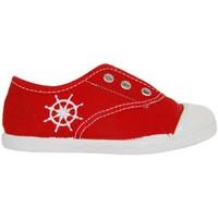 Scarpe Unisex bambino Sneakers basse Cotton Club CC0002 Rojo