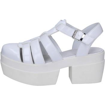Scarpe Donna Sandali Cult sandali bianco pelle BT539 Bianco