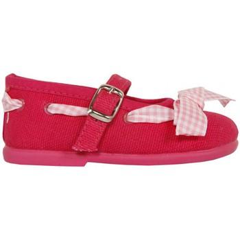 Scarpe Bambina Ballerine Cotton Club CC0005 Rojo