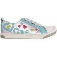 Scarpe Bambina Sneakers basse Flower Girl 148711-B2040 Plateado