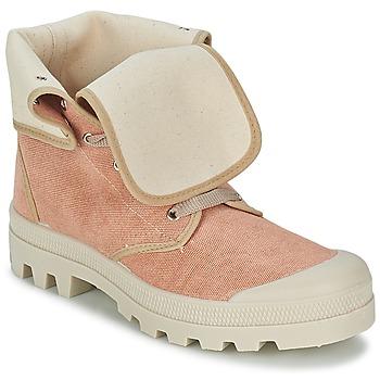 Scarpe Donna Sneakers alte Casual Attitude BOPESSA Rosa