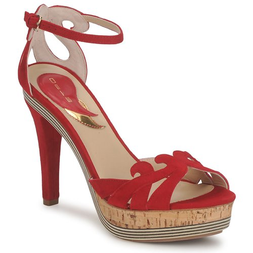 Scarpe Donna Sandali Etro 3488 Rosso