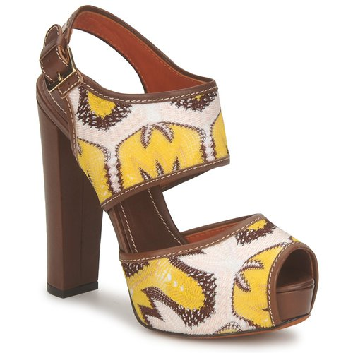 Missoni Sandali TM81 spartoo-shoes marroni Estate