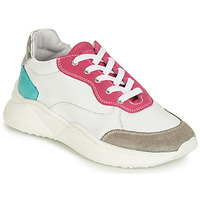 Scarpe Bambina Sneakers basse André WENDY Bianco / Rosso / Blu