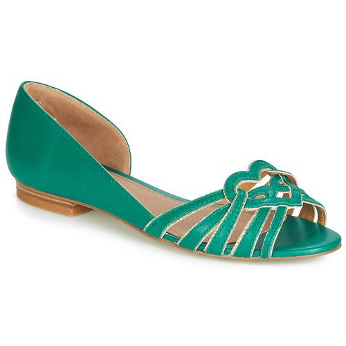 Christie Gratuita Verde Ballerine Consegna Scarpe 4830 Donna André gv7yIY6bf