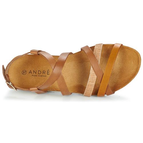 Marrone André Attlas Gratuita Sandali Donna 4410 Consegna Scarpe 80wkXnOP