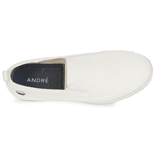Bianco Scarpe Slip André Consegna 2730 Gratuita Uomo Twiny On NZn0PO8wkX