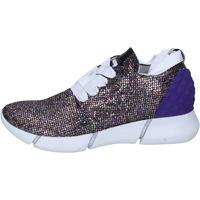 Scarpe Donna Sneakers basse Elena Iachi sneakers multicolor glitter BT587 Multicolre