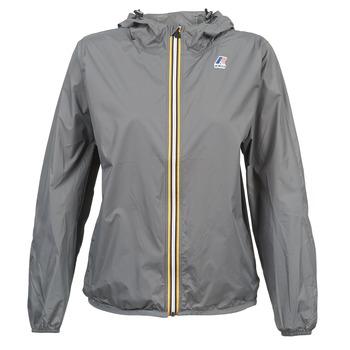 Abbigliamento giacca a vento K-Way LE VRAI CLAUDE 3.0 Grigio