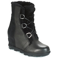 Scarpe Donna Stivali da neve Sorel JOAN OF ARCTIC™ WEDGE II LUX Nero