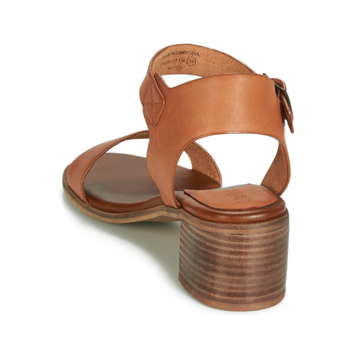 Kickers VOLOU Camel - Consegna gratuita  Scarpe Sandali Donna 7799