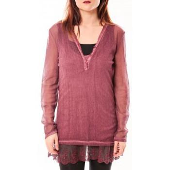 Abbigliamento Donna Tuniche Tcqb Tunique Nuova Stella Rouge Rosso