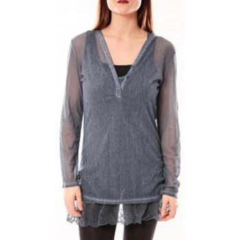 Abbigliamento Donna Tuniche Tcqb Tunique Nuova Stella Bleu Blu