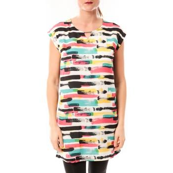 Abbigliamento Donna Abiti corti Little Marcel Robe Romine E15FDRE0209 Blanc Bianco
